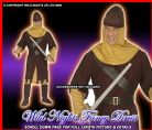 FANCY DRESS COSTUME = DLX MENS MEDIEVAL SOLDIER MED/LG